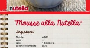 Mousse Nutella