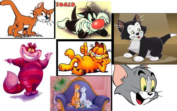 Gatti nei cartoni animati la mia ombra