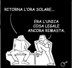 31 Ottobre Torna L Ora Solare Lancette Indietro La Mia